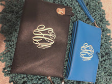 Load image into Gallery viewer, Monogram Clutch/ Crossbody/ Wristlet -Large