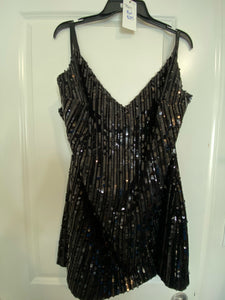 Sequined Sexy Dress-18w