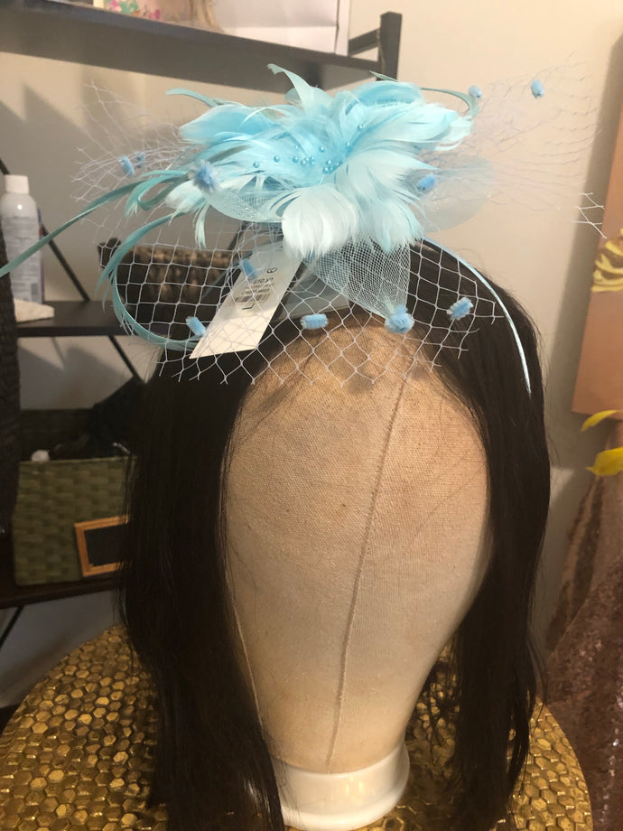 Tiffany Blue Fascinator-NWT