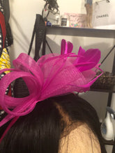 Load image into Gallery viewer, Pink Fascinator-NWT