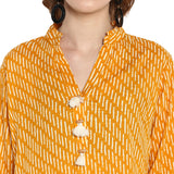 Yellow Printed tunic