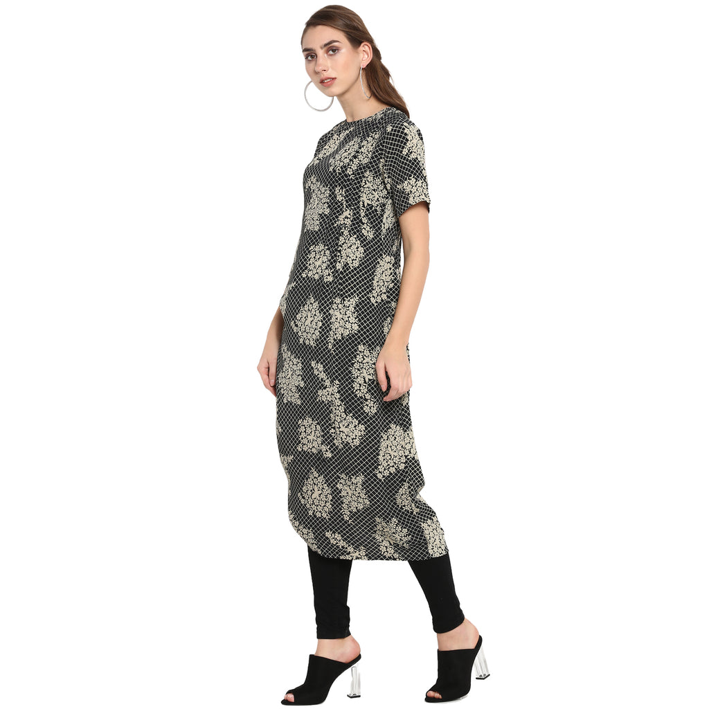 Black Asyemmetric tunic