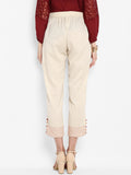Handloom Ankle Length Pants