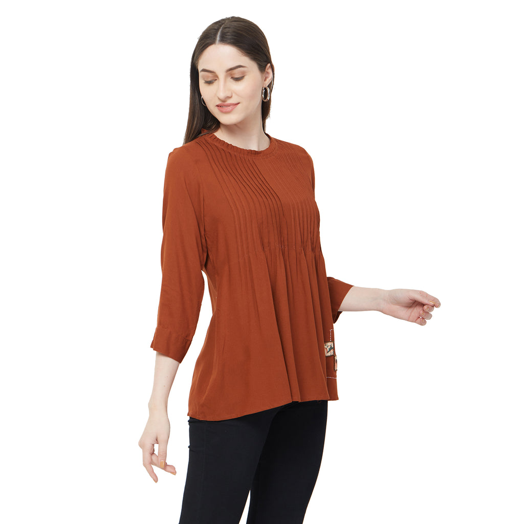 Basic Brown Tunic
