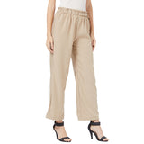 Satin Finish Pallazo trousers