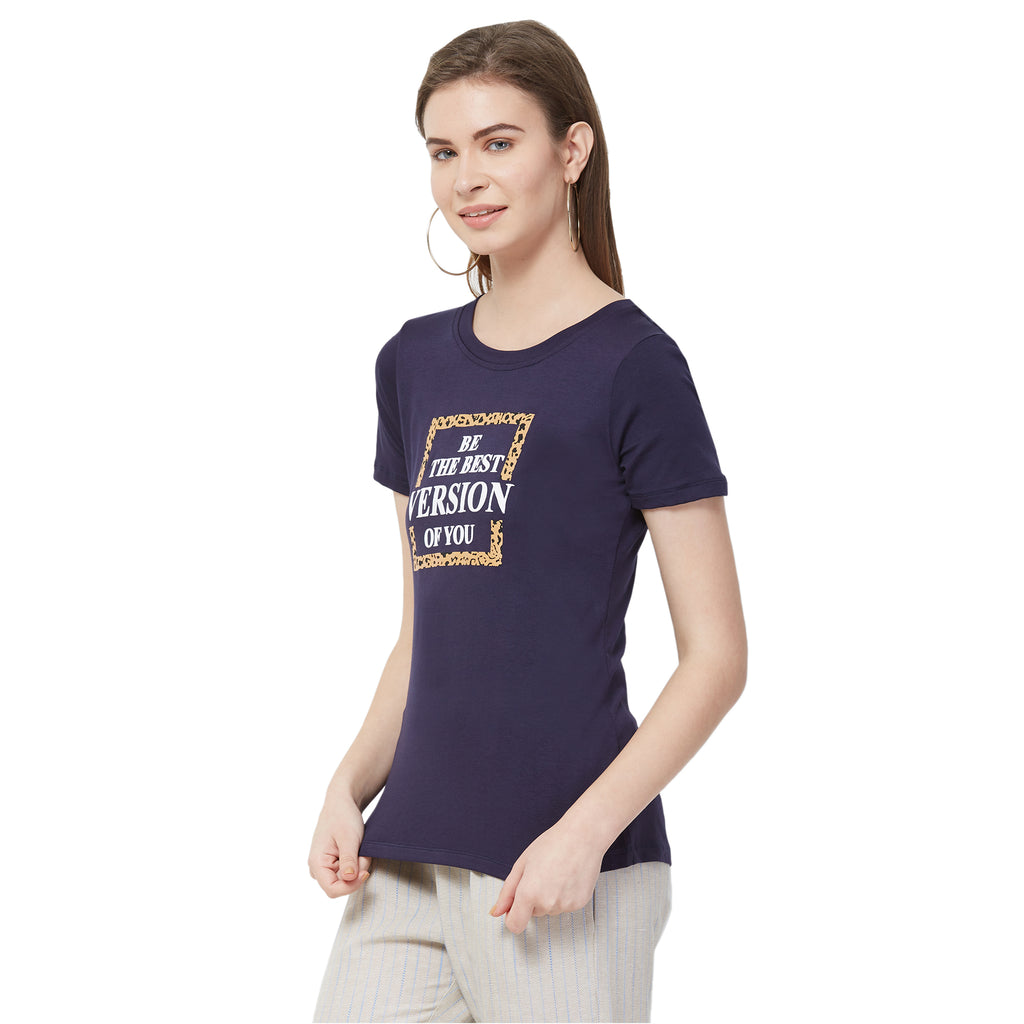 Basic placement print tshirt