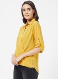 Basic Solid top with fancy button