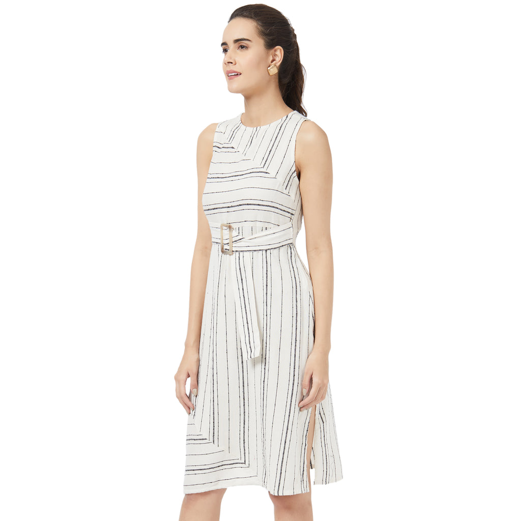Sleevless Stripe dress