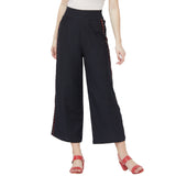 Palazzo pant with side stripes