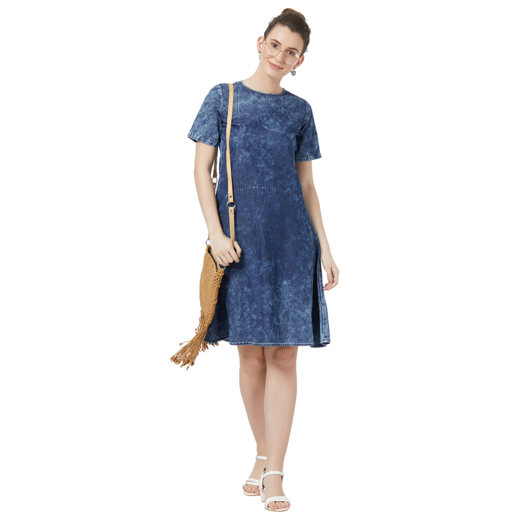 Relaxed Denim washed dress
