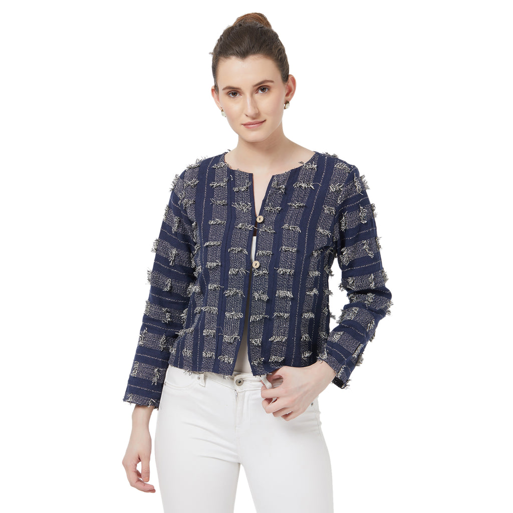 Jacquard fancy jacket