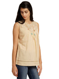 Solid Hue Stylish Top
