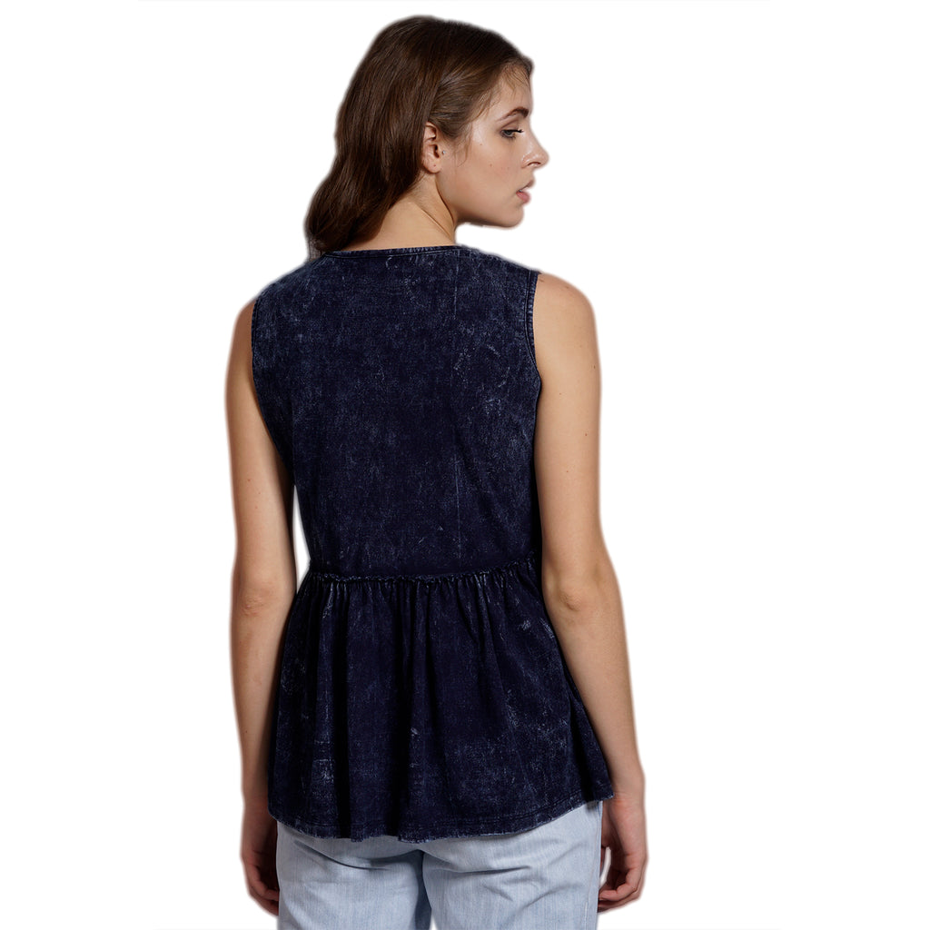 Denim Relax Top
