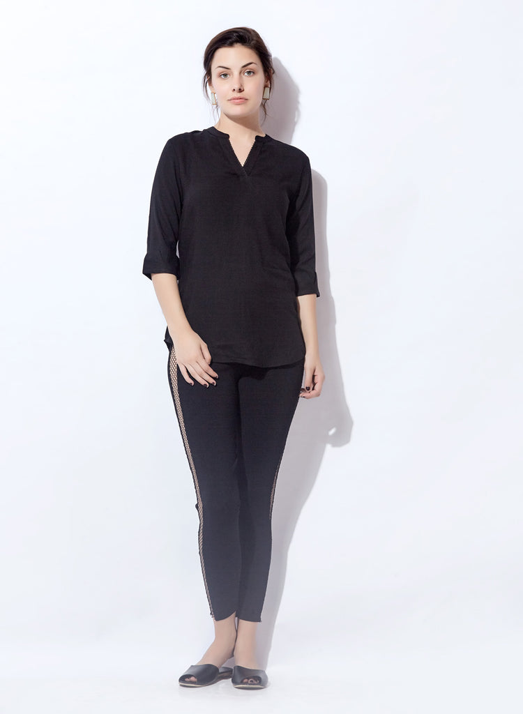 Basic Essential Rayon Top