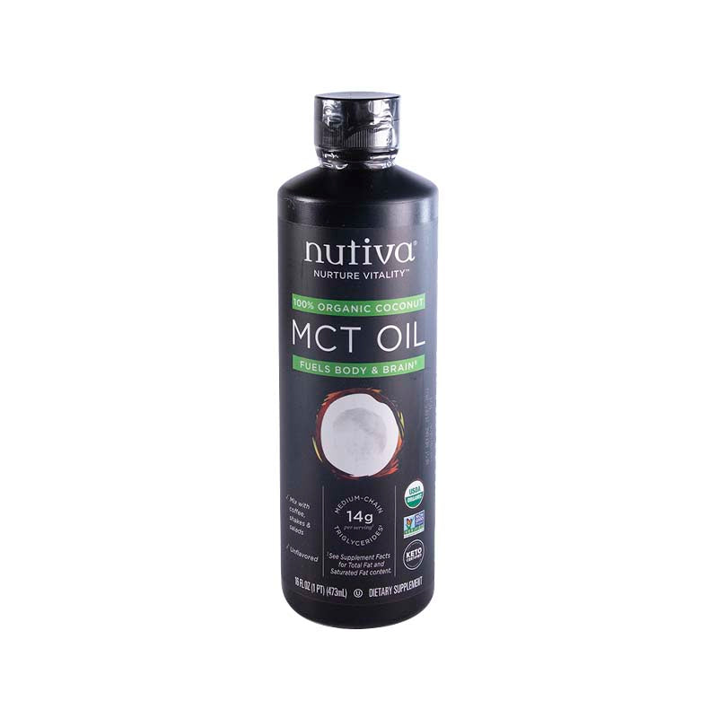 MCT OIL Orgánico 473ml