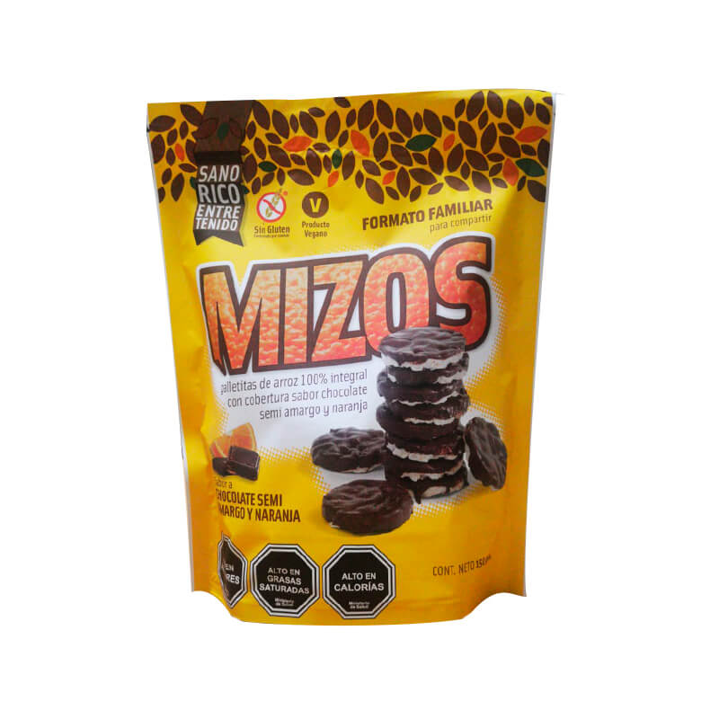 Mizos Chocolate Naranja Formato Familiar