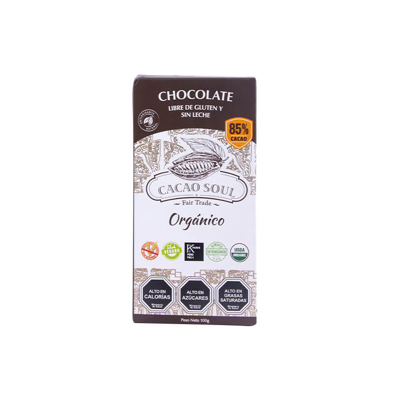 Barra de Chocolate 85% Cacao