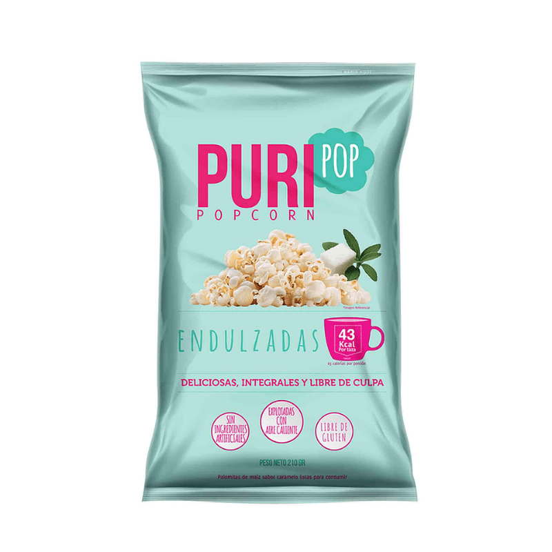 Pop Corn Endulzadas