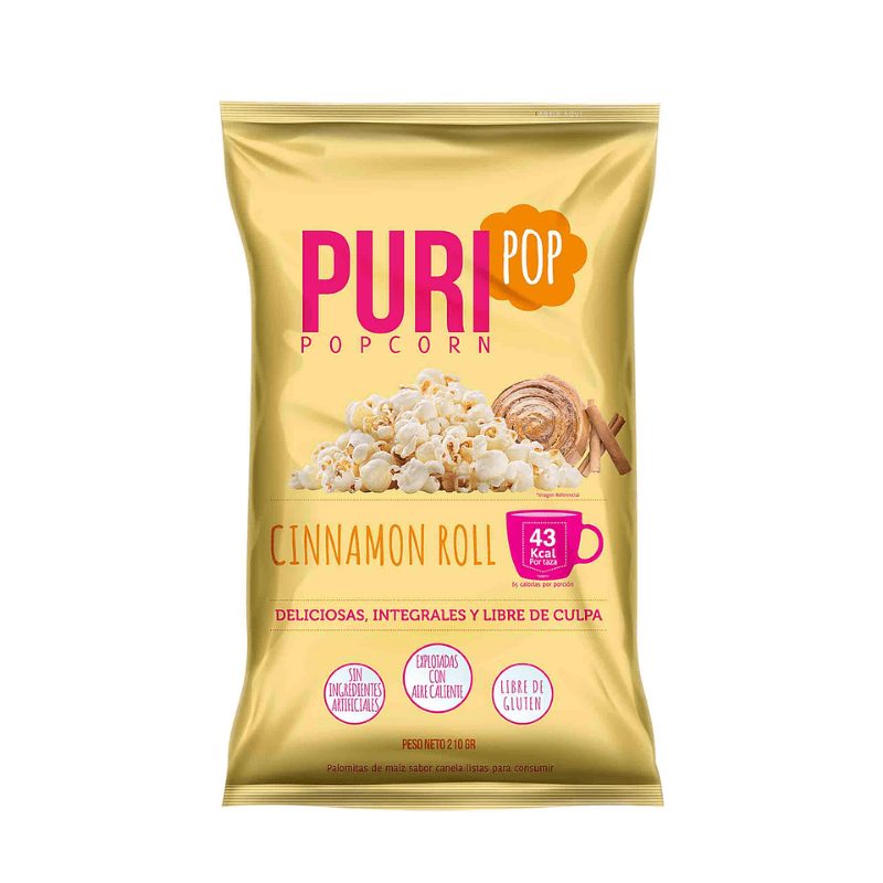 Pop Corn Cinamon Roll