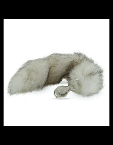 Crystal Delights - Faux Fur Tail Butt Plug