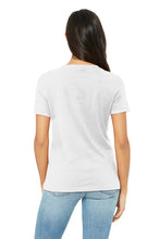 Load image into Gallery viewer, Women's Relaxed Jersey Short Sleeve V-Neck Tee