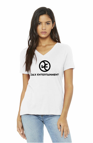 Women's Relaxed Jersey Short Sleeve V-Neck Tee