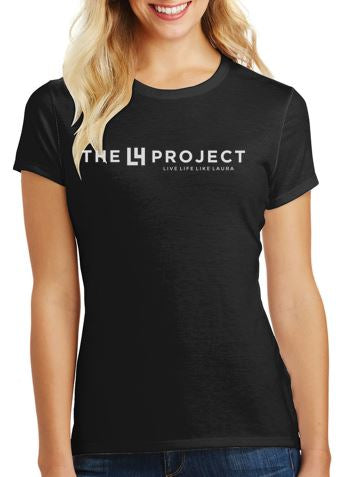 LIMITED EDITION Women's Fitted Black T-Shirt