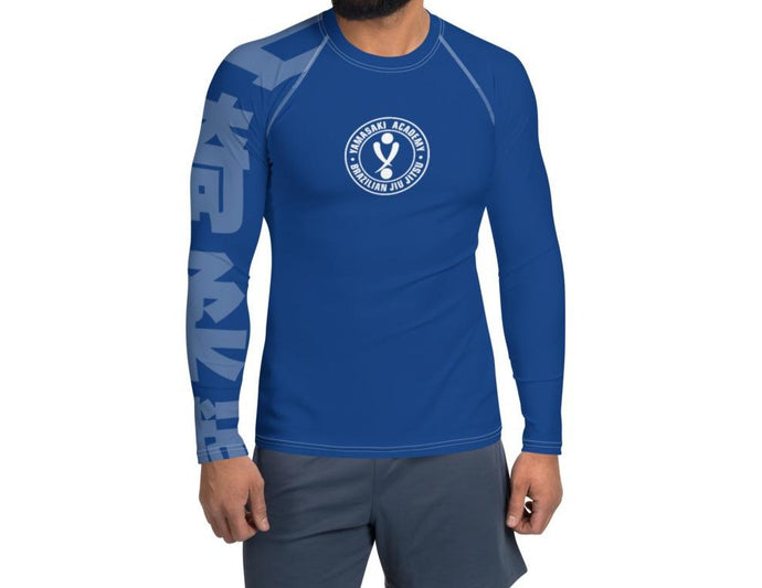 Yamasaki BLUE Rash Guard