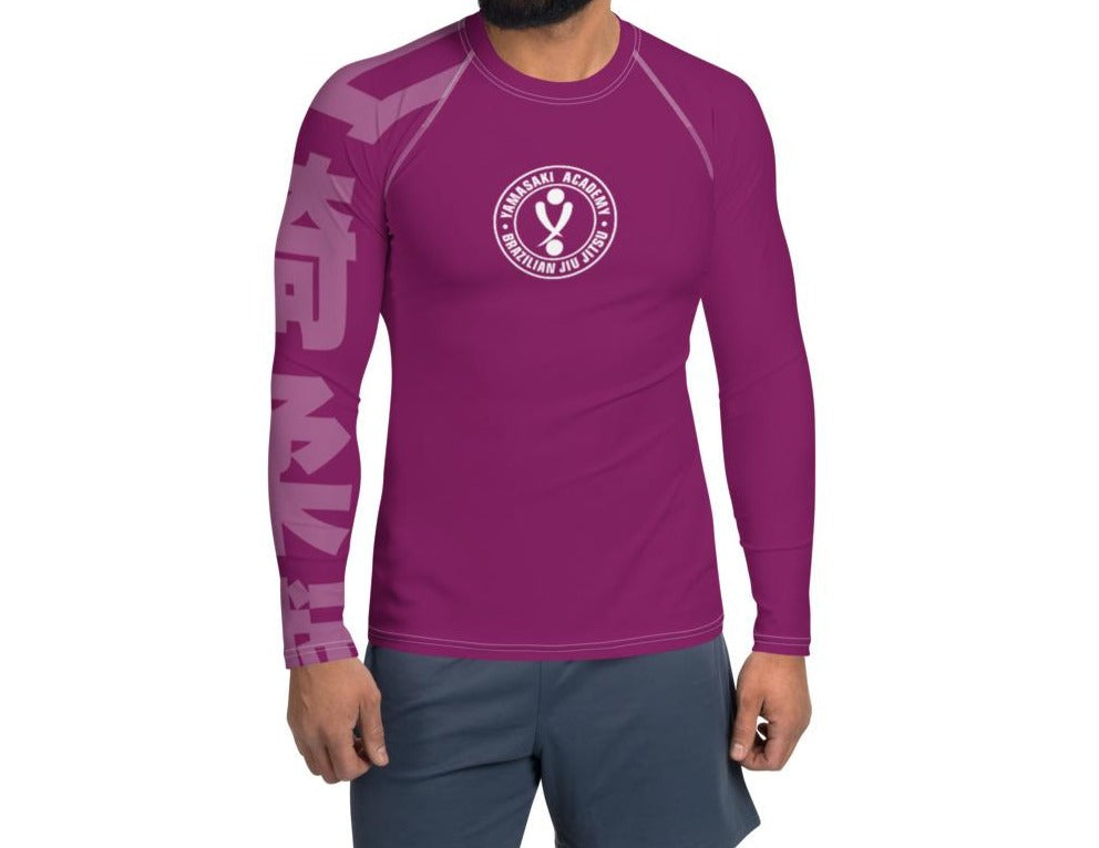 Yamasaki PURPLE Rash Guard