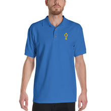 Load image into Gallery viewer, Yamasaki Simple Logo Embroidered Polo Shirt in White, Black or Royal Blue