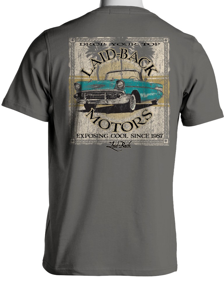 Laid back Baywood 57 Chevy Men's Chill T-Shirt