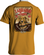 Load image into Gallery viewer, Laid Back Labrador Lager-Men's Chill T-Shirt