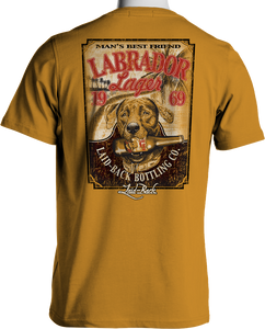 Laid Back Labrador Lager-Men's Chill T-Shirt