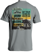 Load image into Gallery viewer, Laid Back Route 66 Signs-Men's Chill T-Shirt