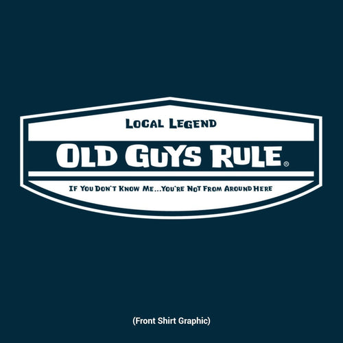 Local Legend Navy Tee Shirt