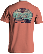 Load image into Gallery viewer, Laid Back Halfway 57 Chevy Dog-Men's Chill T-Shirt