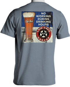 Laid Back Ink Motorway Beer-Men's Chill T-Shirt