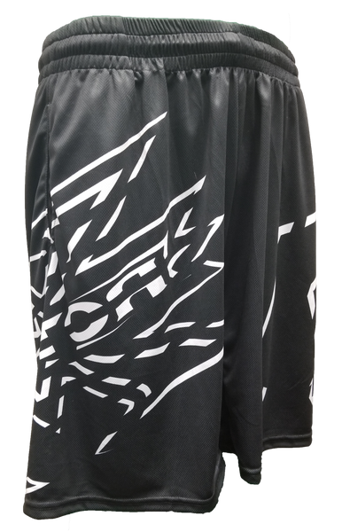 San Antonio X Factor Casual Short Black White Front