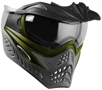 GI Sportz Grill Paintball Mask - SC Olive Grey
