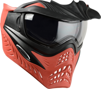 GI Sportz Grill Paintball Mask - Scarlet Red Black