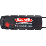 Exalt Bayonet Barrel Cover Danger Lasers Black
