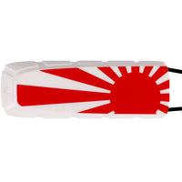 Exalt Bayonet Barrel Cover Rising Sun Flag White Red