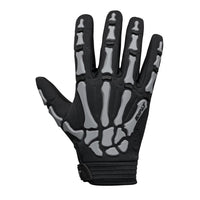 Exalt Full Finger Death Grip Gloves Grey Back