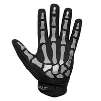 Exalt Full Finger Death Grip Gloves Grey Palm