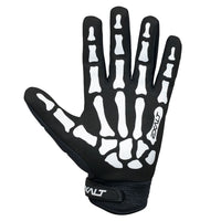 Exalt Full Finger Death Grip Gloves White Palm