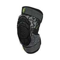 Planet Eclipse Overload HD Core Knee Pads - FANTM Black From the front