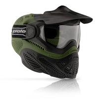 Dye Paintball Proto FS Paintball Mask - Olive Green