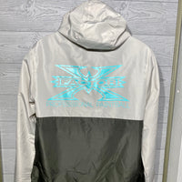X Factor Anorak Lightweight Windbreaker Half Zip Jacket