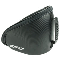 Exterior Photo of Exalt V3 Universal Goggle Case with Black Carbon Finish showcasing polymer carry handle.