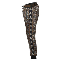 HK Army Jogger Pant Hostlewear Skulls Brown Side